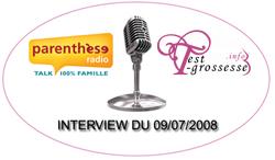 interview Parentèse Radio